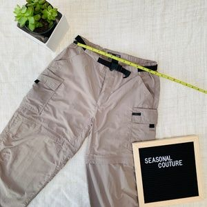 REI UPF 50+ Convertible pants, 4.  Gently used.  E
